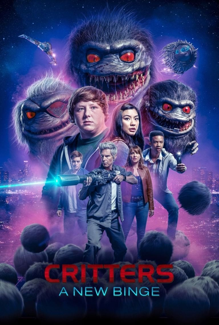 critters the new binge tv series poster
