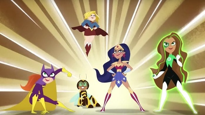 dc super hero girls cartoon network