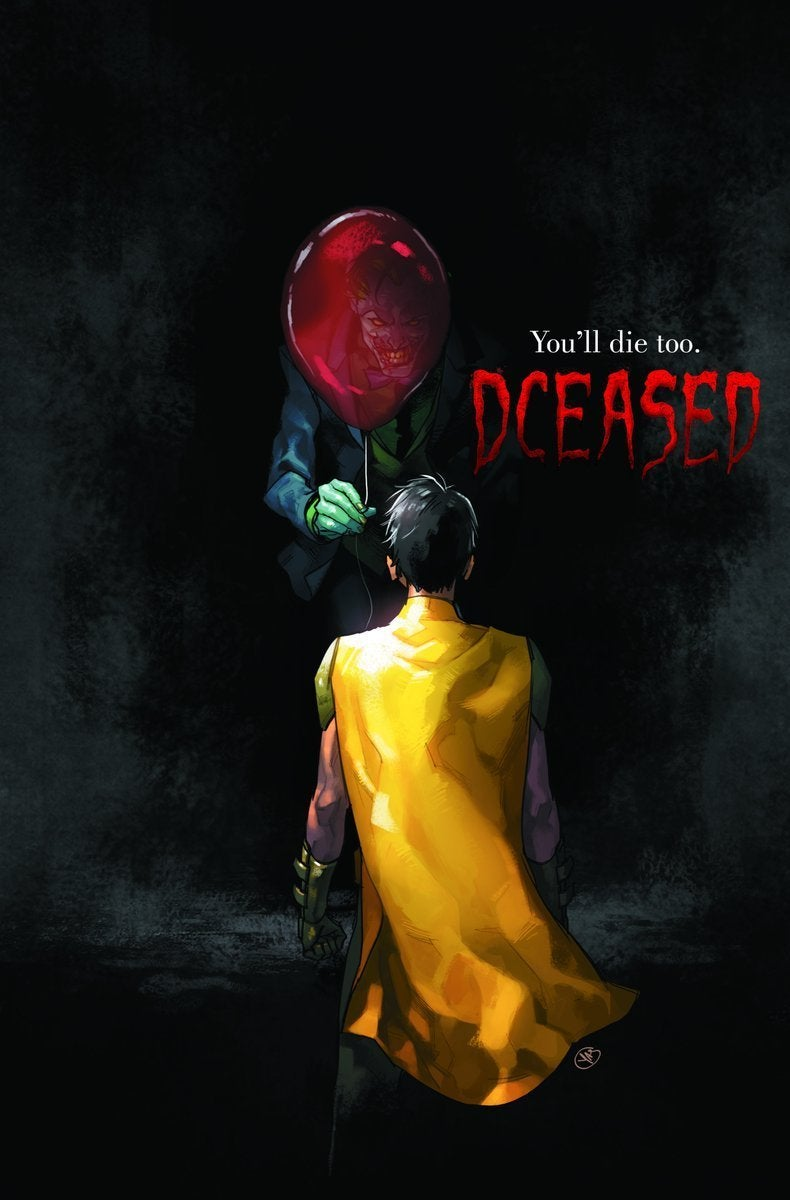 DC Reveals 'It' Inspired 'DCeased' Variant