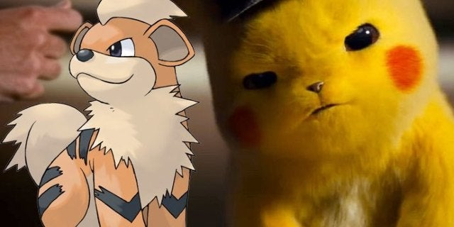 detective pikachu growlithe