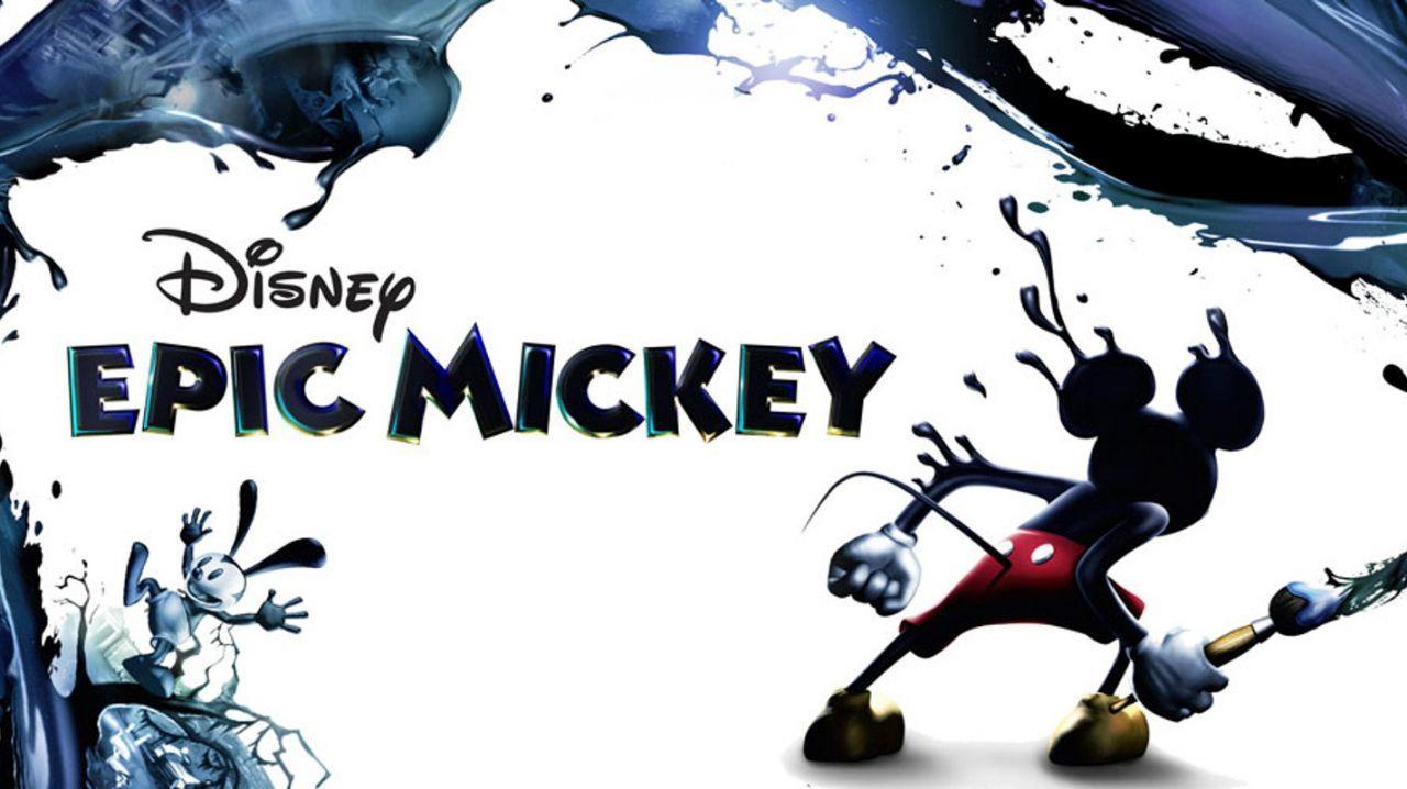Disney Epic Mickey Junction Point Studios