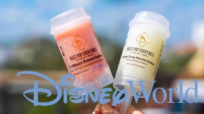 Disney World Buzz Pop Cocktails Paddlefish Restaurant