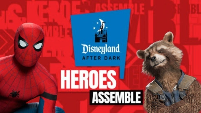 Disneyland After Dark Heroes Assemble Marvel comicbookcom
