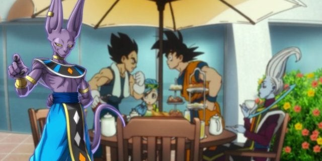 Dragon Ball Super Broly Whis New God Destruction Goku Vegeta