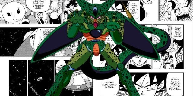 Dragon Ball Super Moro Chi Souls Cell Connection