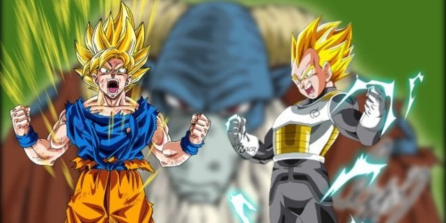 Dragon Ball Super - Moro Magic Super Saiyan Transformation Power