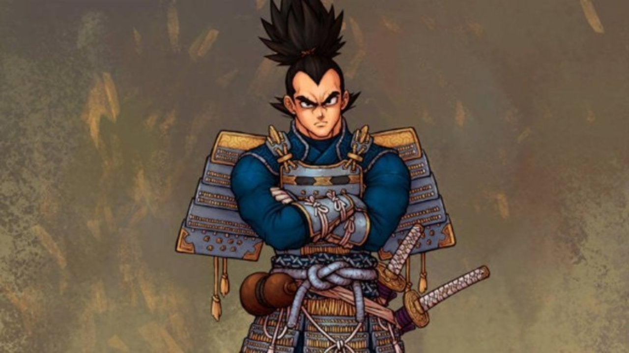 Dragon Ball Z Gets Reimagined Samurai Style