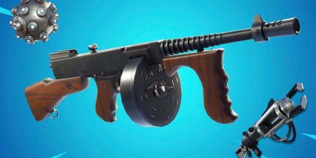 Fortnite Battle Royale Vaulted Weapons