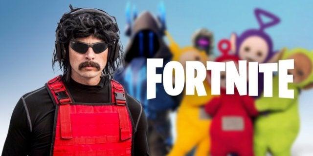 Fortnite Dr Disrespect Epic Games Battle Royale