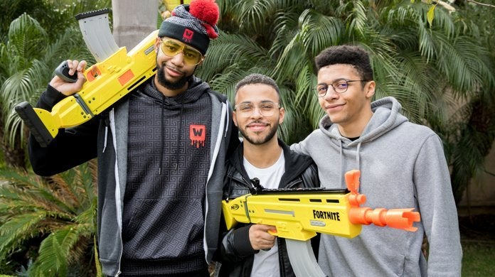'Fornite' Nerf Blasters and Super Soakers Arrive Tonight