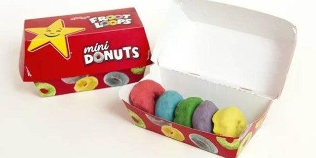 froot loops mini donuts