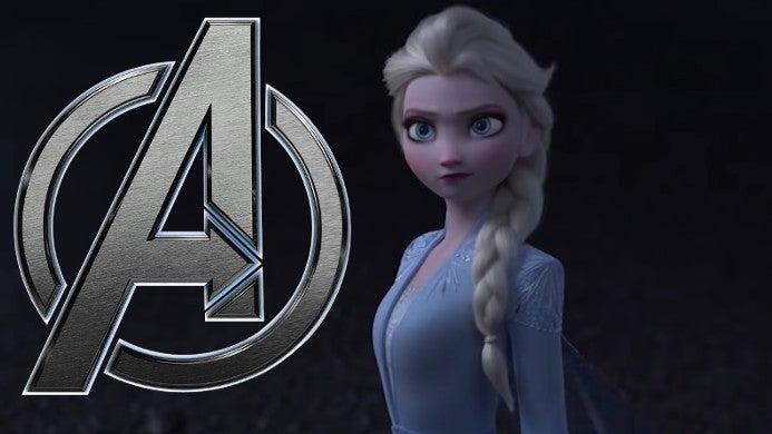 frozen 2 avengers