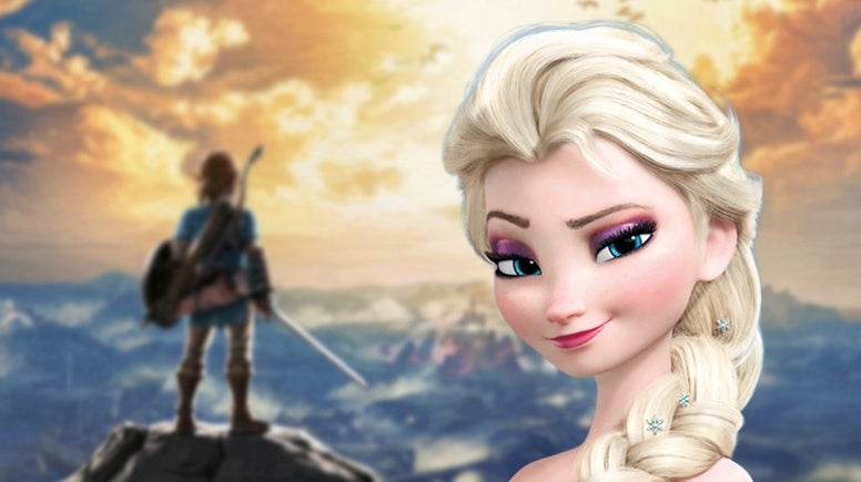 Frozen 2 Legend of Zelda Breath of the Wild Elsa