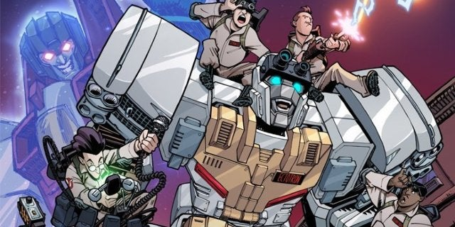 ghostbusters transformers comic book series