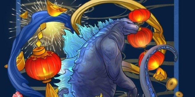 Godzilla-King-of-the-Monsters-Lunar-New-Year-Poster