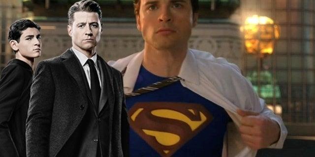gotham batman smallville superman