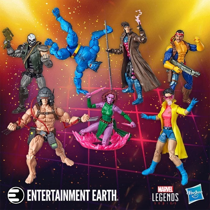 X-Men Hasbro Marvel Legends NY Toy Fair Releases Are Available to Pre-Order
