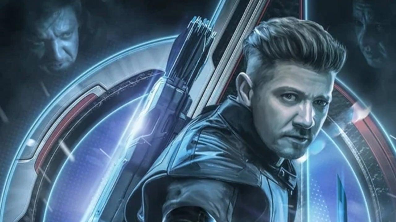 Avengers Endgame Hawkeye Takes The Spotlight In Epic Fan Poster