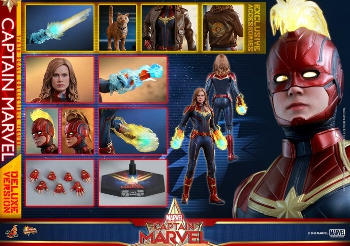 Hot Toys - Captain Marvel - Captain Marvel collectible figure (Deluxe)_PR23
