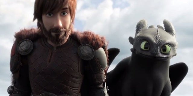 how to train your dragon hiccup beard