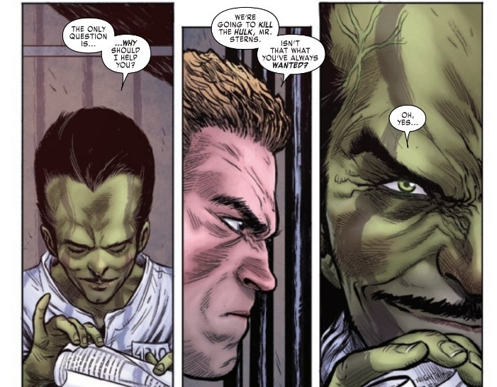 'Hulkverines' #1 Review: Exactly What You'd Expect for Better or for Worse