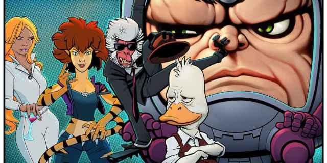 Hulu Marvel Animation