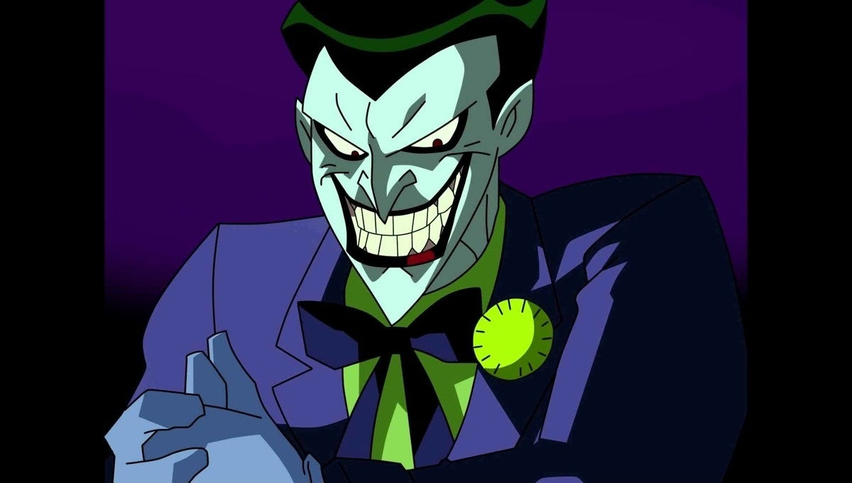 joker batman animated series