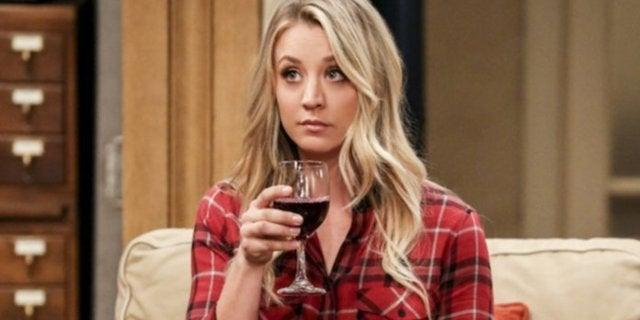 kaley cuoco big bang theory wine