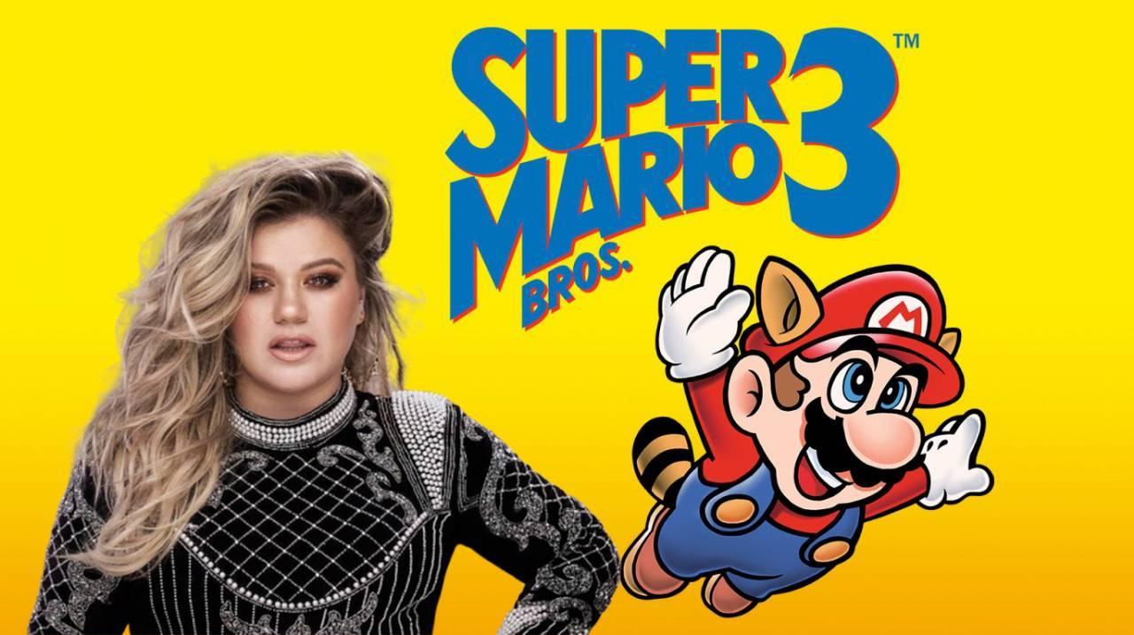 Kelly Clarkson Super Mario Bros 3 Nintendo