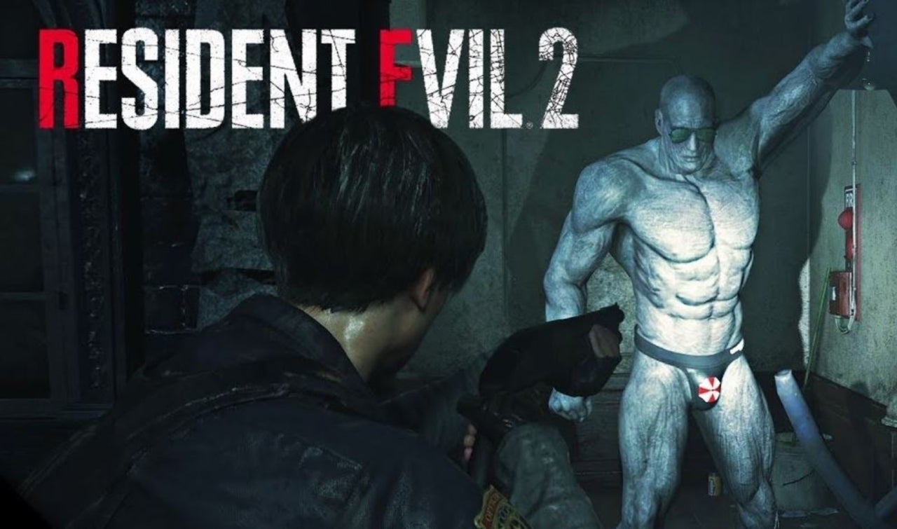 resident evil 2 remake mr x