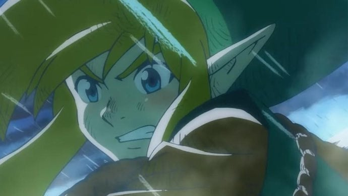 legend of zelda anime
