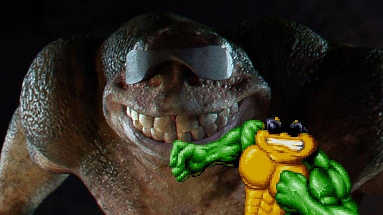 Live Action Battletoads Rash