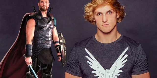 Logan Paul Fight Chris Hemsworth