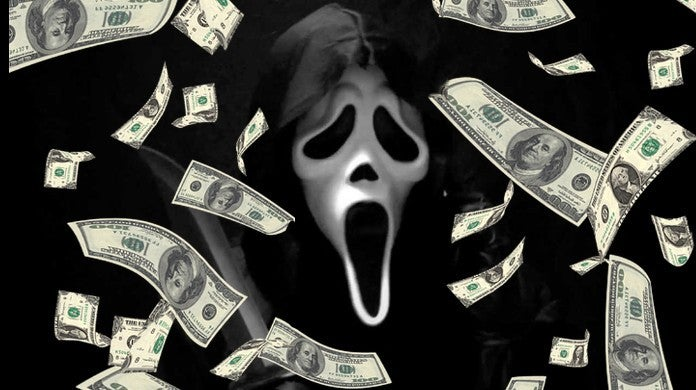 Lotter Winner Ghostface Scream Movies Mask Jamaica