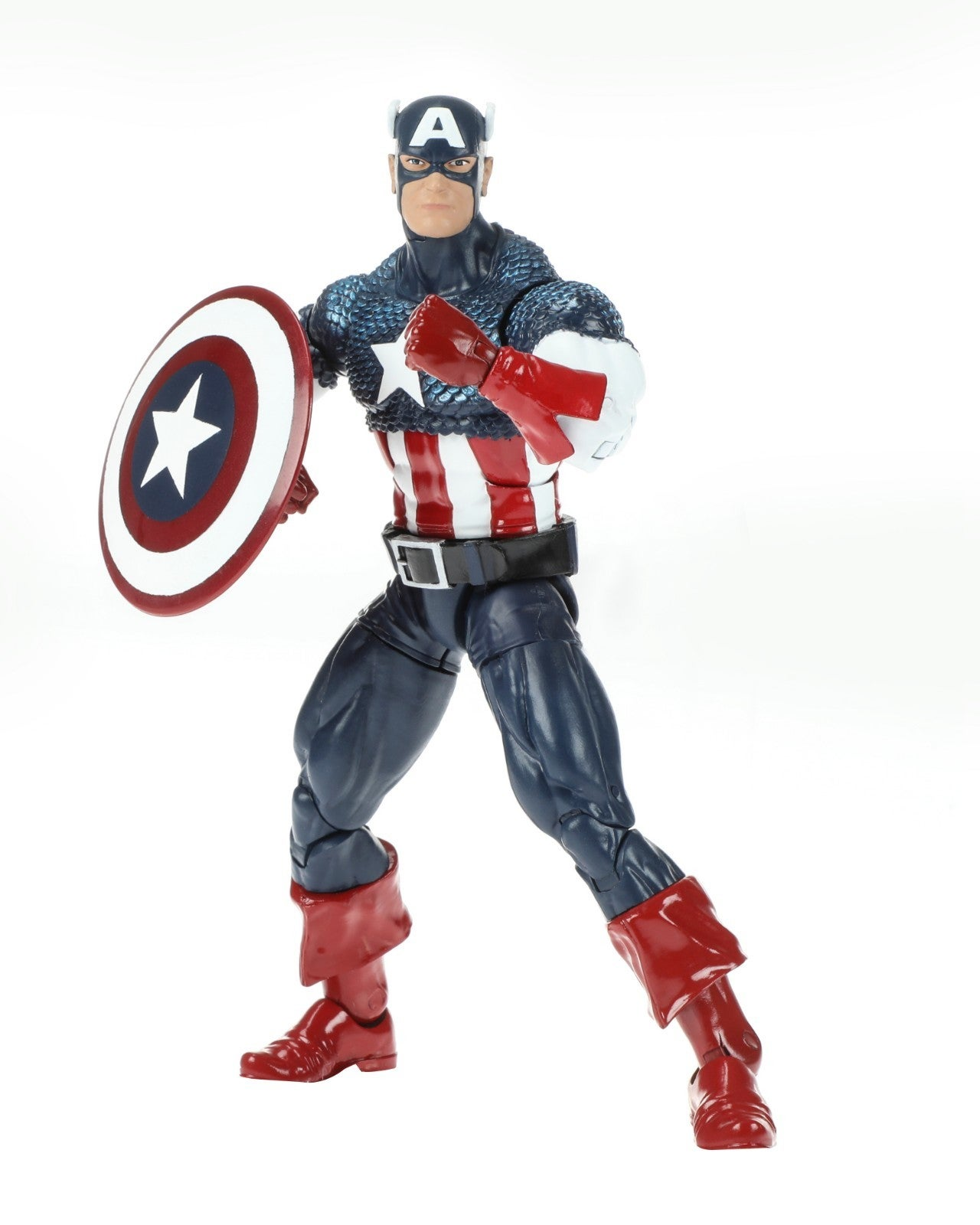 Marvel 80th Anniversary Legends Series Captain America Figure oop