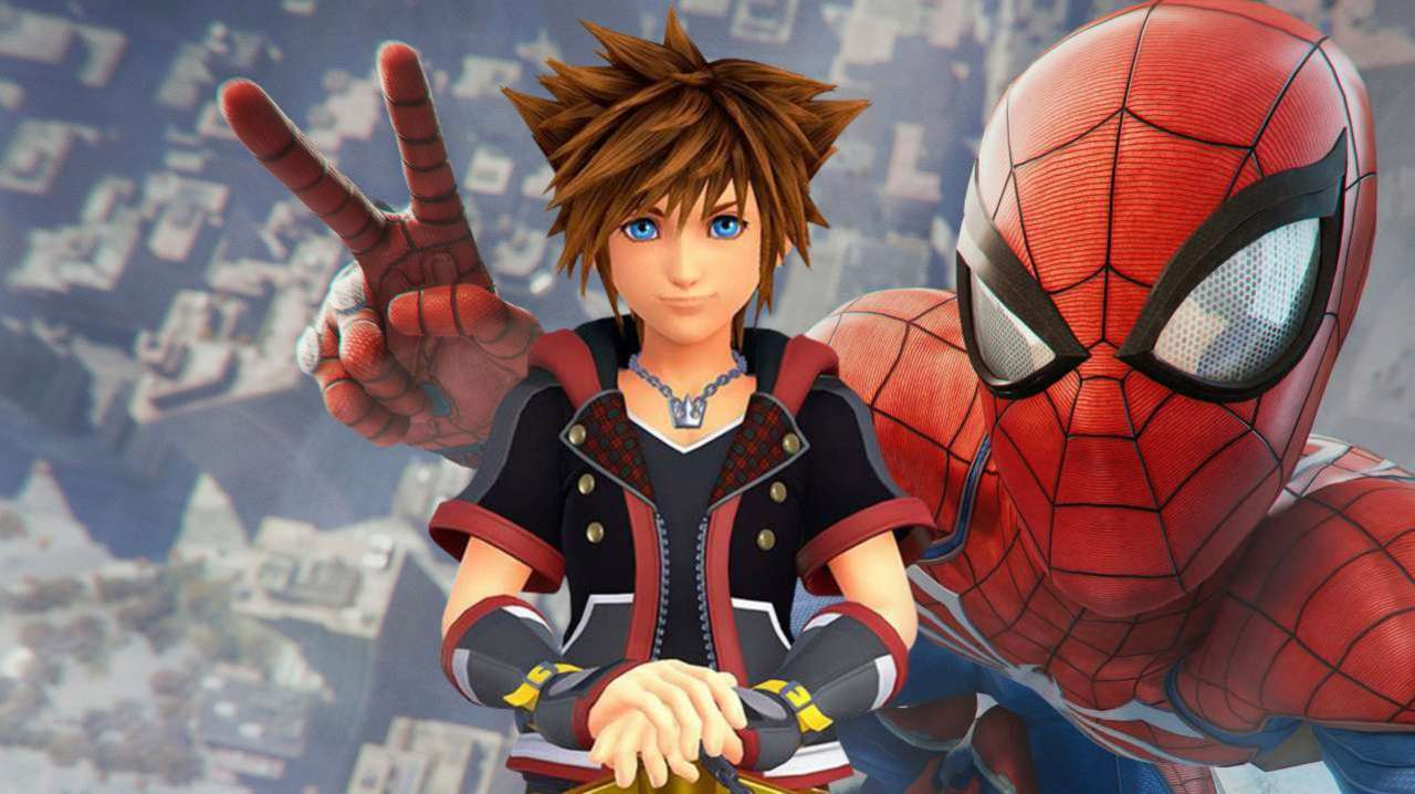 Marvel's Spider-Man' and 'Kingdom Hearts III' Come Together