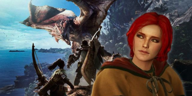 Monster Hunter World Capcom The Witcher Triss Merigold