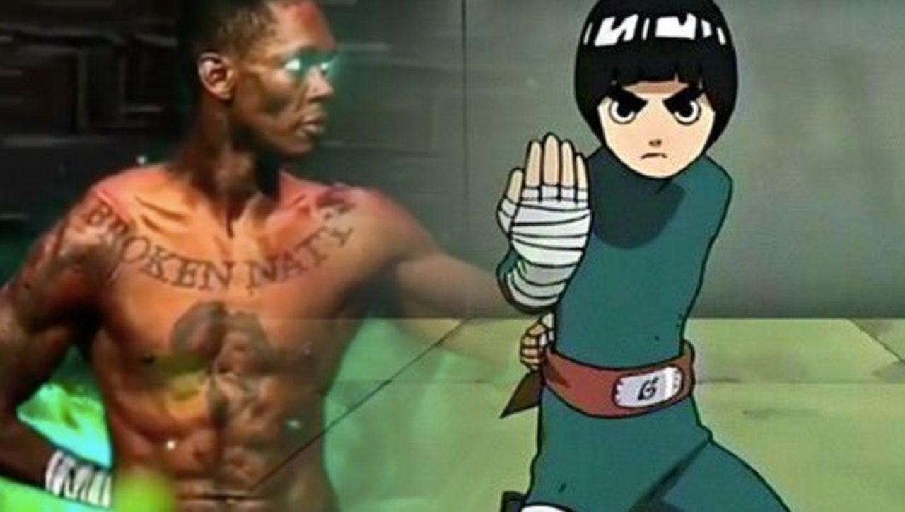 Naruto\u0027 UFC Star Channels Rock Lee, Gaara In Recent Match