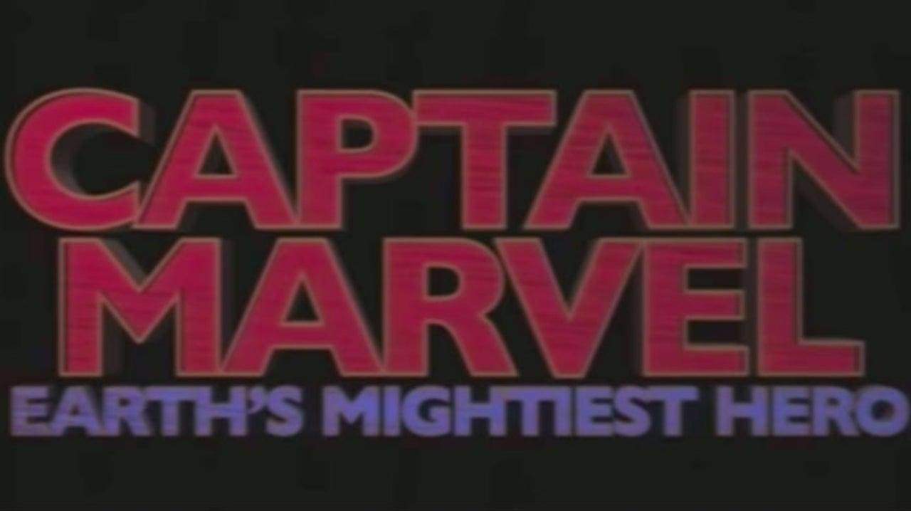 'Captain Marvel' Gets a 1995 Trailer
