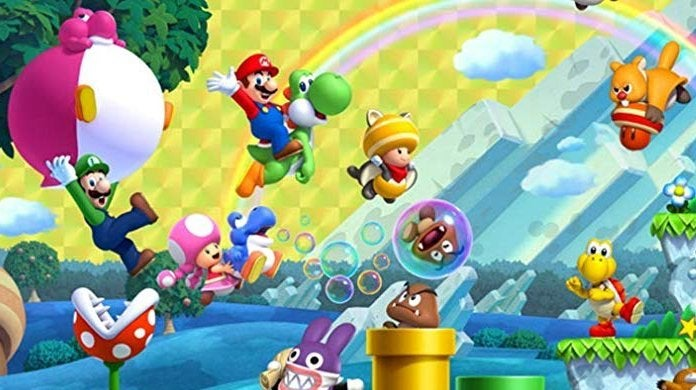 Save 14 On New Super Mario Bros U Deluxe For The Nintendo Switch