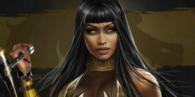 'Mortal Kombat 11' Fan Art Reveals What Nicki Minaj Would Look Like as Tanya
