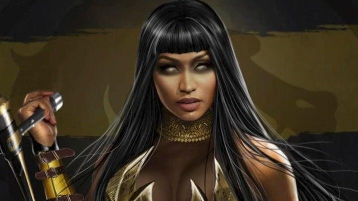 Nicki Minaj Mortal Kombat 11 Tanya