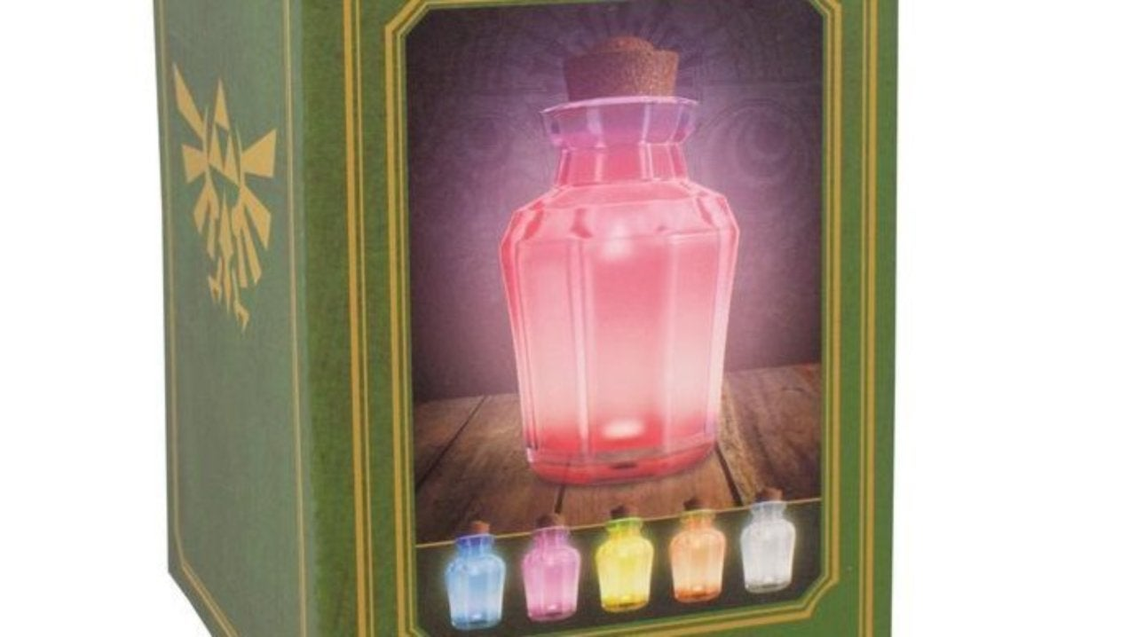 'The Legend of Zelda' Potion Jar Light Features Five Magical Effects
