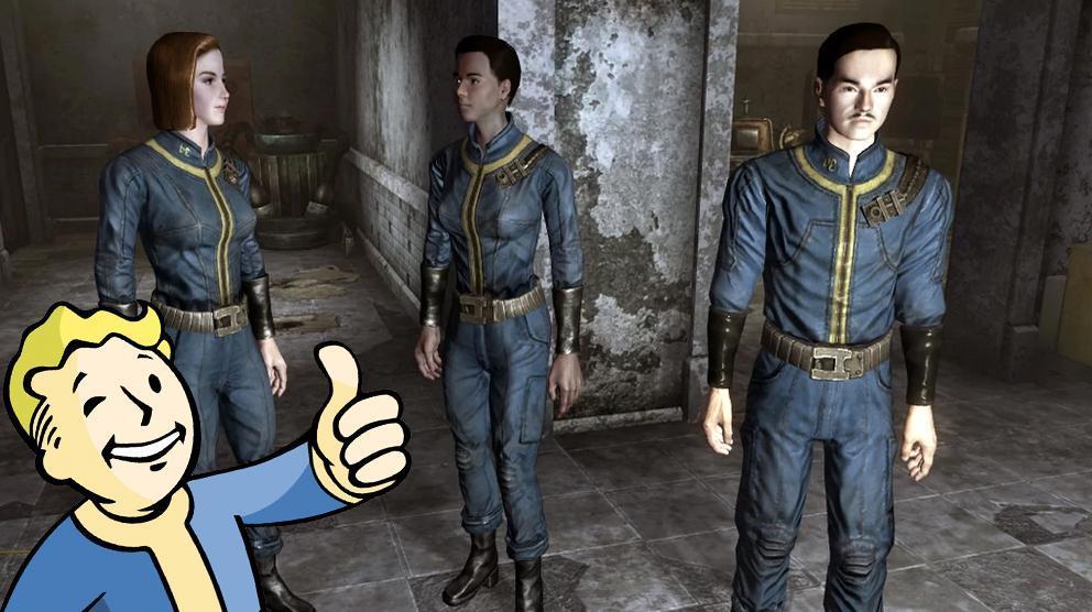Obsidian Entertainment Fallout Vault Suits