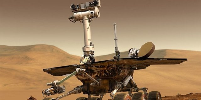 The Opportunity Rover Lives On as 'Dungeons Dragons' Creature