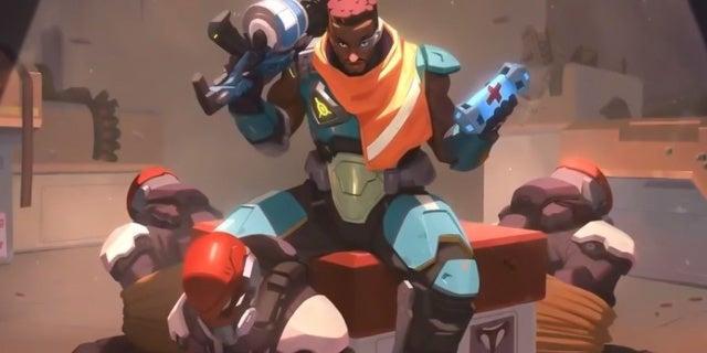 Overwatch Hero Baptiste