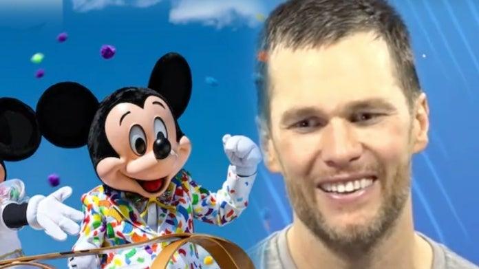 Patriots Tom Brady Walt Disney World