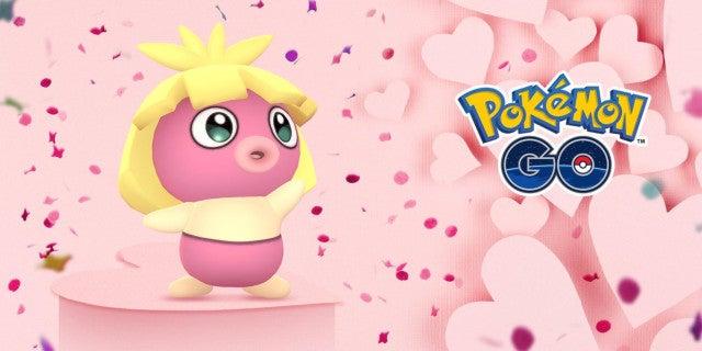 pokemon go valentines day