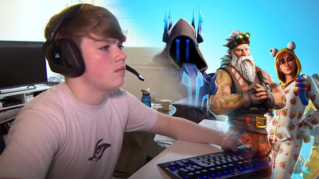 Pro Fortnite Player Epic Games Battle Royale