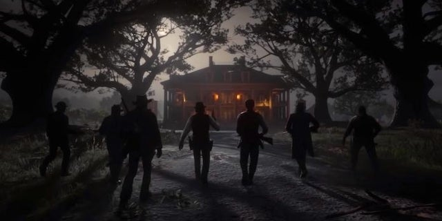 red dead redemption 2 manor